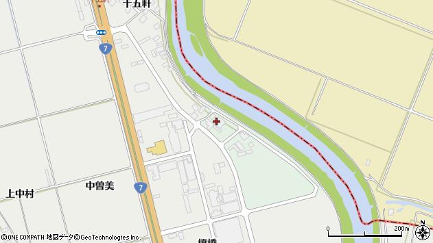 山形県酒田市広野川端割周辺の地図