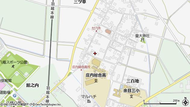 山形県東田川郡庄内町廿六木三ツ車15周辺の地図