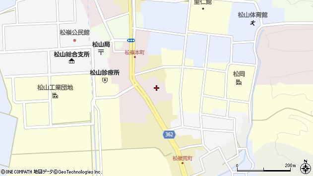 山形県酒田市本町1周辺の地図