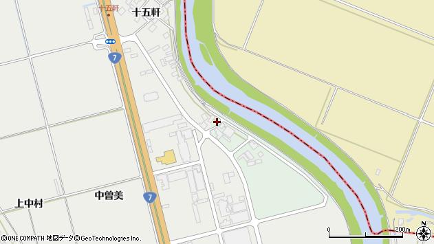山形県酒田市広野川端割68周辺の地図