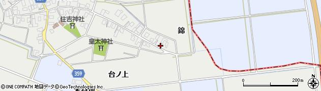 山形県酒田市門田台ノ上25周辺の地図