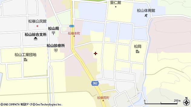 山形県酒田市仲町46周辺の地図