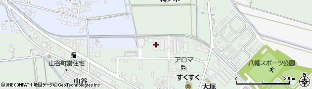 山形県東田川郡庄内町余目大塚25周辺の地図