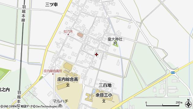 山形県東田川郡庄内町廿六木三百地78周辺の地図