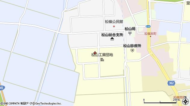 山形県酒田市西田12周辺の地図