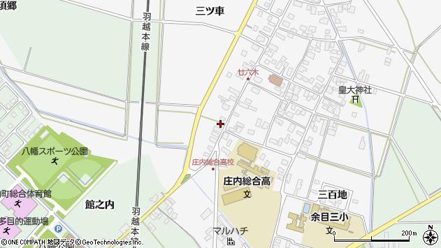 山形県東田川郡庄内町廿六木三ツ車142周辺の地図