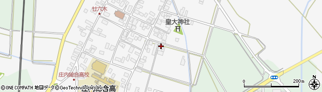 山形県東田川郡庄内町廿六木三百地75周辺の地図