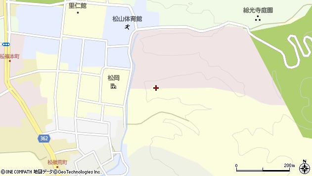 山形県酒田市仲町5周辺の地図