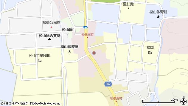 山形県酒田市本町11周辺の地図