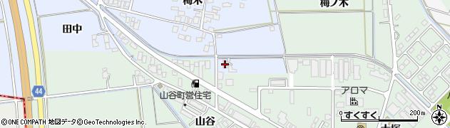 山形県東田川郡庄内町跡梅木16周辺の地図