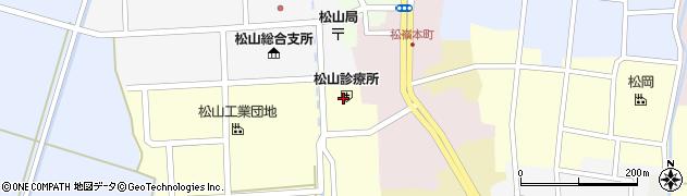 山形県酒田市西田6周辺の地図