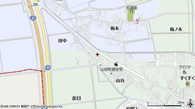 山形県東田川郡庄内町余目大塚108周辺の地図