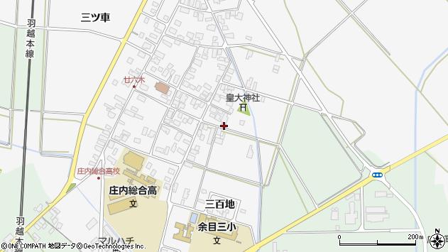 山形県東田川郡庄内町廿六木三百地80周辺の地図