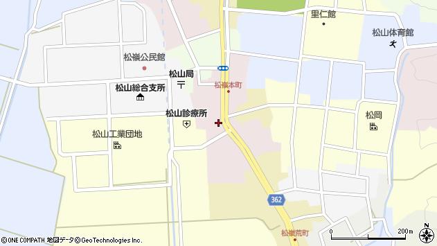山形県酒田市本町45周辺の地図