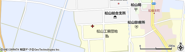 山形県酒田市西田14周辺の地図