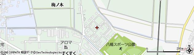 山形県東田川郡庄内町余目館之内周辺の地図