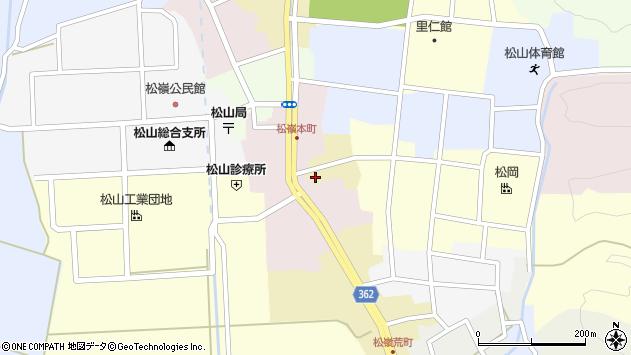 山形県酒田市蔵小路9周辺の地図