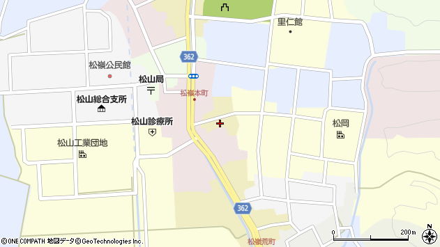山形県酒田市蔵小路4周辺の地図