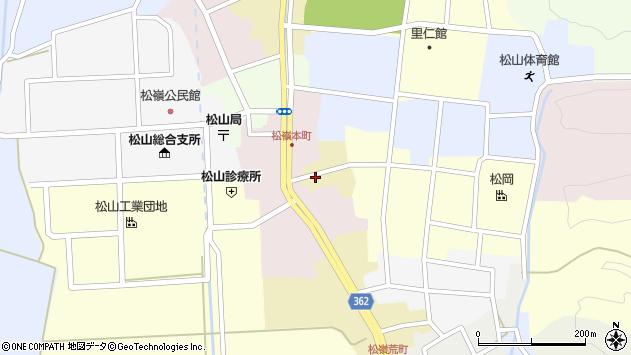 山形県酒田市蔵小路6周辺の地図