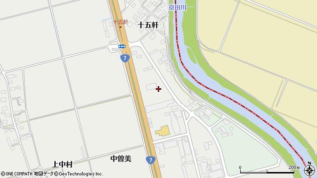 山形県酒田市広野十五軒27周辺の地図