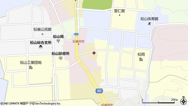 山形県酒田市蔵小路2周辺の地図