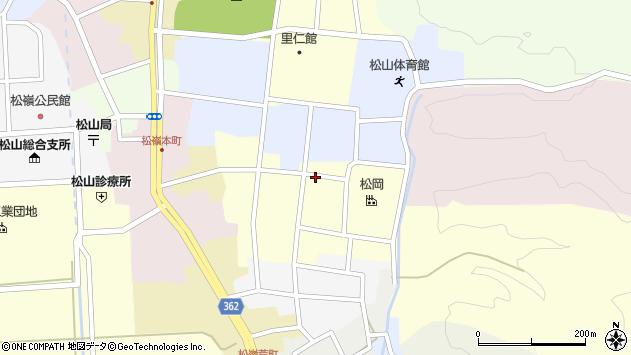 山形県酒田市仲町29周辺の地図