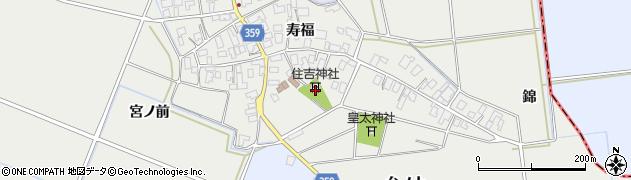 山形県酒田市門田寿福87周辺の地図