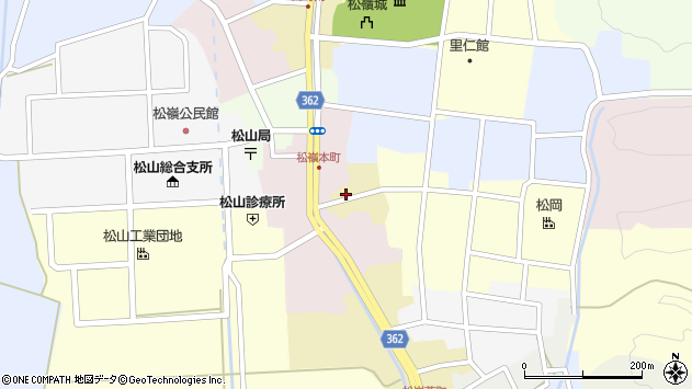 山形県酒田市蔵小路14周辺の地図