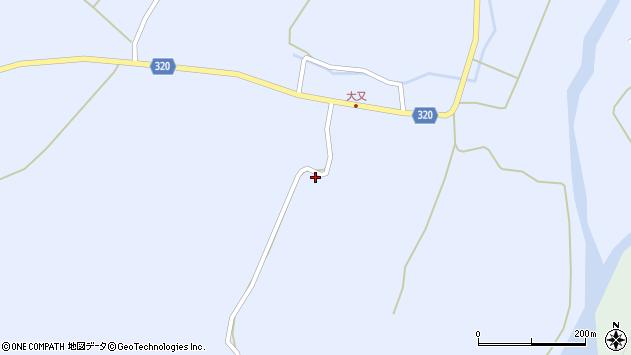 山形県最上郡金山町山崎三枝1287周辺の地図