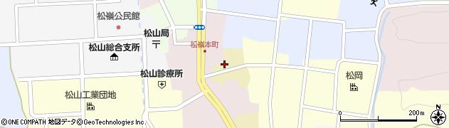 山形県酒田市蔵小路15周辺の地図