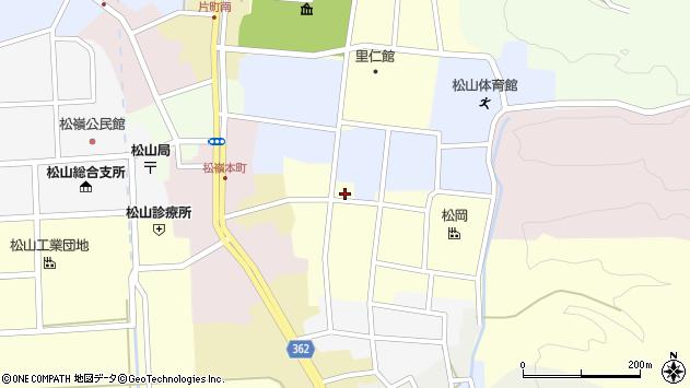 山形県酒田市仲町30周辺の地図