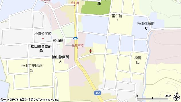 山形県酒田市蔵小路18周辺の地図