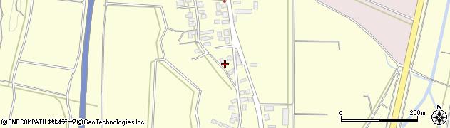 山形県酒田市黒森谷地中116周辺の地図