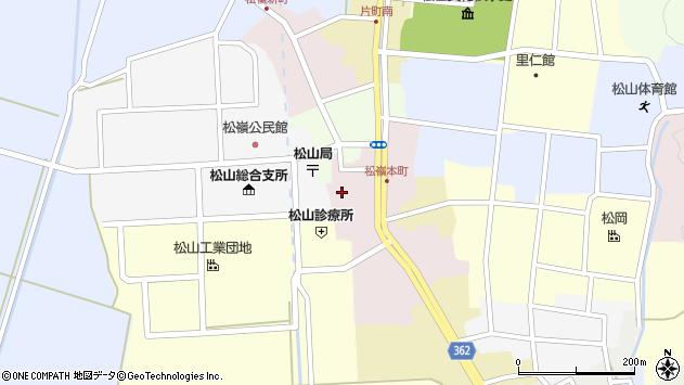 山形県酒田市本町34周辺の地図