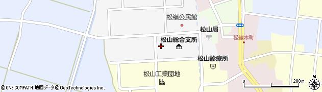 山形県酒田市山田28周辺の地図