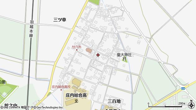 山形県東田川郡庄内町廿六木三ツ車44周辺の地図