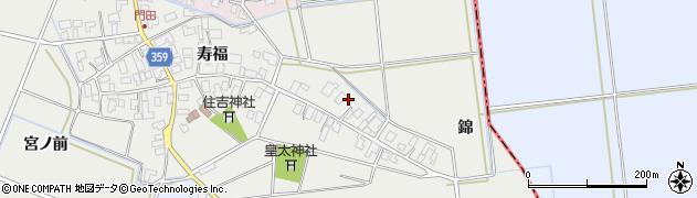 山形県酒田市門田寿福3周辺の地図