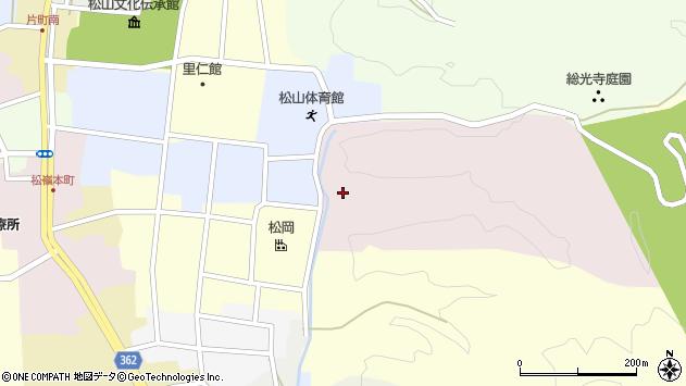 山形県酒田市稲荷沢33周辺の地図