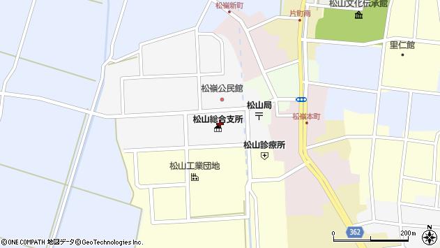 山形県酒田市山田27周辺の地図