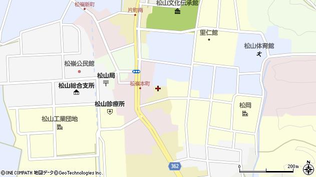 山形県酒田市蔵小路周辺の地図