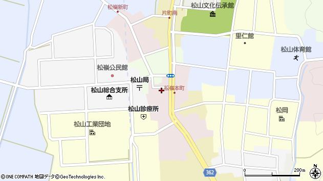 山形県酒田市本町32周辺の地図