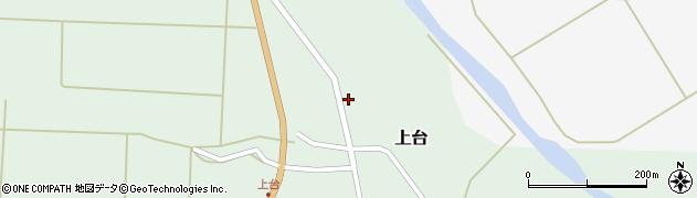 山形県最上郡金山町上台99周辺の地図