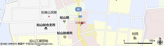 山形県酒田市本町25周辺の地図