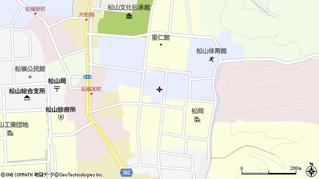 山形県酒田市内町23周辺の地図