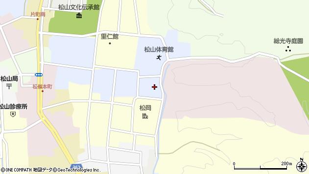 山形県酒田市内町9周辺の地図