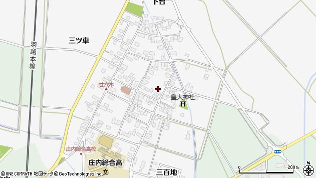 山形県東田川郡庄内町廿六木三ツ車65周辺の地図