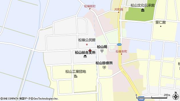 山形県酒田市山田25周辺の地図