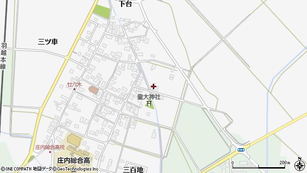 山形県東田川郡庄内町廿六木下台6周辺の地図