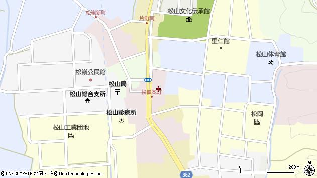 山形県酒田市本町26周辺の地図