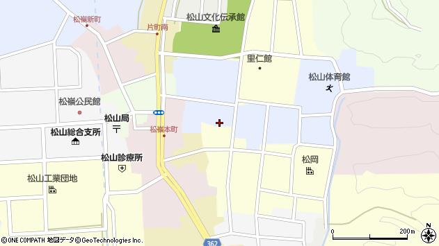 山形県酒田市内町27周辺の地図